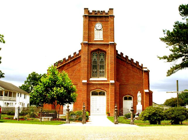 ASSUMPTION OF THE BLESSED VIRGIN MARY PARISH (Est. 1793) LA Highway #308,  Napoleonville, LA 70390-0099